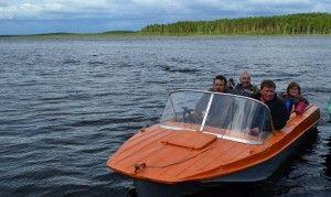 18 Липня на нижньому княсьпінском озері пройшли змагання з рибної ловлі