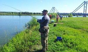 19 Липня в бронниця пройшли змагання з ловлі риби