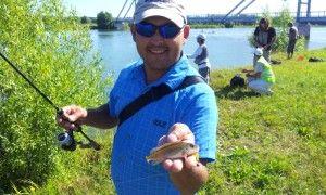 У Бронниця пройшли змагання з ловлі риби спінінгом правила