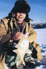 Алтайські безнасадочних. Риболовля взимку.