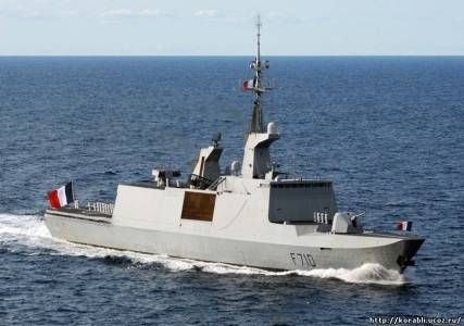 Бойовий корабель вмс франції «la fayette» виконаний за технологією «стелс»