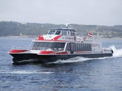 Швидкохідні катери «twin city liner» користуються високим попитом на дунае