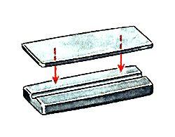 Виготовлення корпусу девону з двох пластин різної товщини.
