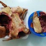 Підготовлене м`ясо качки
