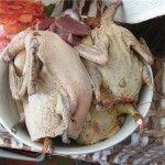Очищені тушки качки