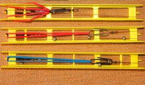Мотовильца можна купити готові або створити самому з дерева і інших підручних матеріалів.