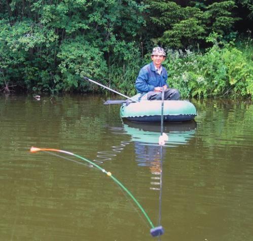 Ловля на бічній кивок з човна