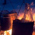 Топимо лід для готування і чаю - романтика