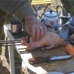 Підготовка качки до смаження