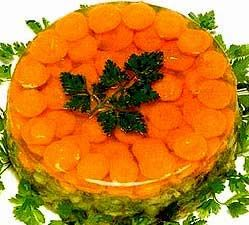 Короп з морквою заливний