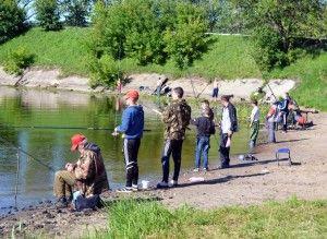 Кинешма прийняла спортсменів з ловлі риби на поплавкову вудку