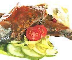 Червоний соус до риби (основний)