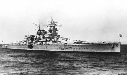 Лінкор «admiral graf spee» або втрачений корабель гітлер