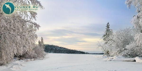 Імандра взимку