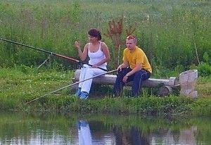 Ловля карася навесні на поплавкову вудку