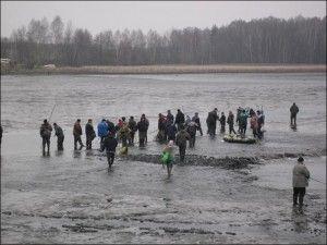 Російські міжрегіональні змагання з ловлі риби початок