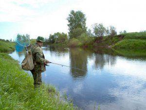 Ловля на малій річці