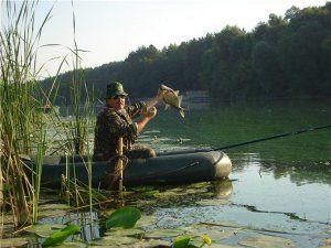 Ловля сазана з човна