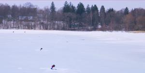 Ловля щуки взимку на жерлиці і навчальний відео сюжет