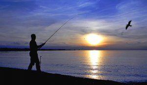 Ловля в море