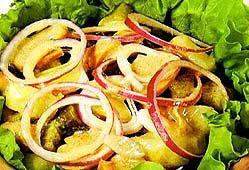 Мариновані гриби з картоплею