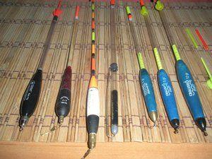 Опис спеціальних поплавків для матчевої ловлі риби
