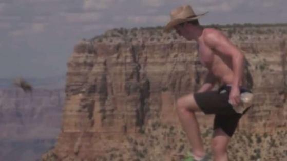 Мерзотники у Великого Каньйону. У мене стислося серце, коли я побачив, що вони зробили ...