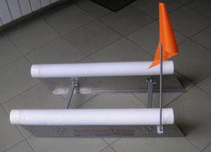 Мініпланер - кораблик для троллінга
