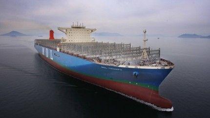 Mol triumph - найбільший в світі контейнеровоз