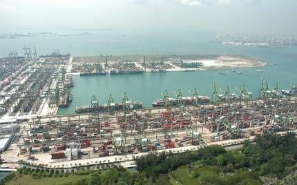 Морський порт сінгапуру