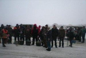 На озері каспля пройшов турнір з підлідного лову риби