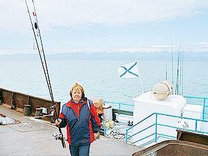 Наталя вітренко побувала на риболовлі і розповіла, як робити «пропасницю»