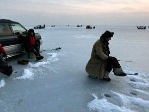 Небезпечні місця для зимової риболовлі в хакасії