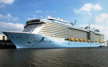Новий лайнер «quantum of the seas»