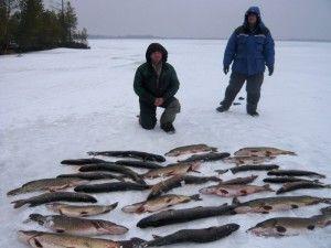 Про рибалку в грудні: хитрості і особливості поведінки риби