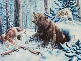 Полювання на ведмедя на барлозі