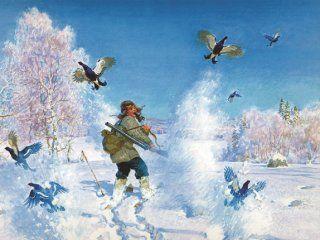 Полювання на тетерева взимку в лунках