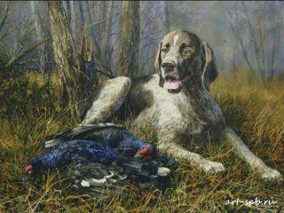 Полювання на тетеревів з собакою