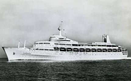 Океанський лайнер «ss canberra»