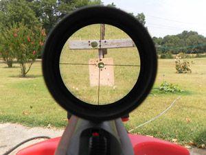 оптичний приціл для пневматичної рушниці Airmax EV