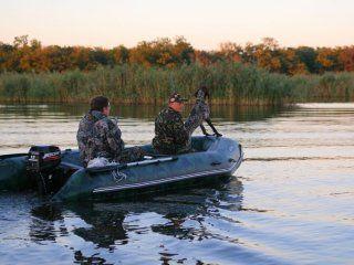 Основні типи човнів для полювання і риболовлі