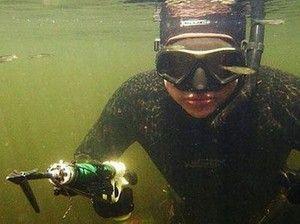 Як правильно полювати на сома під водою?