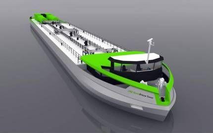 Перше в світі річкове спг-судно