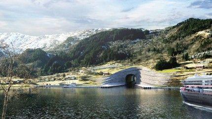 Перший в світі тунель для кораблів