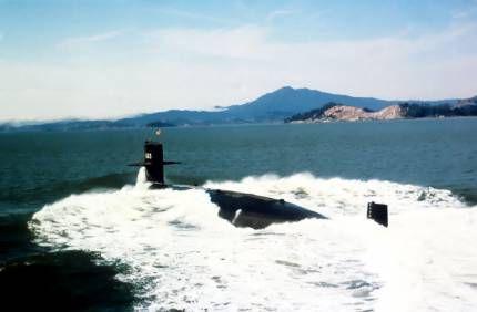 Підводний човен, що затонув біля причалу