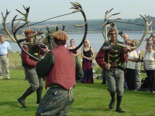 Ритуальні танці шотландських отохніков