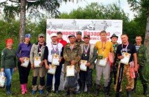 Пройшли змагання на Дзеркальному озері в Назарово початок змагань