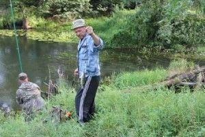 Пройшли змагання з ловлі риби серед співробітників уфсін