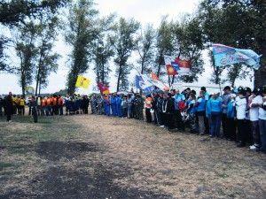 Пройшли змагання серед членів профспілки податкових органів кубани