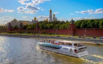 Річкові прогулянки по москві-річці від компанії «radisson cruises»